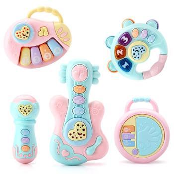 益米宝宝手拍鼓拍拍鼓音乐玩具婴儿早教益智