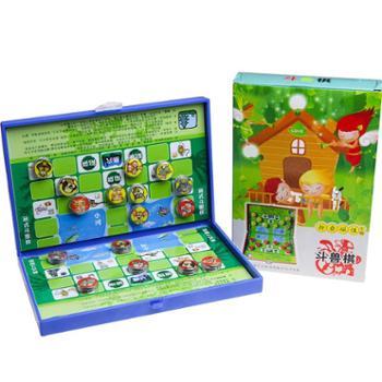 FORTHGOER/先行者 亲子儿童成人益智棋牌智力折叠磁性大号便携式玩具桌面游戏斗兽