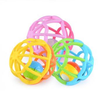 GOODWAY/谷雨 儿童婴儿玩具手抓球益智婴儿宝宝触觉感知声光球