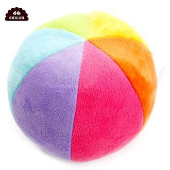 SHILOH 婴儿彩球摇铃新生儿安抚宝宝手抓球玩具