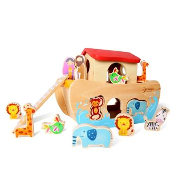 Classic World/可来赛 诺亚方舟形状配对玩具
