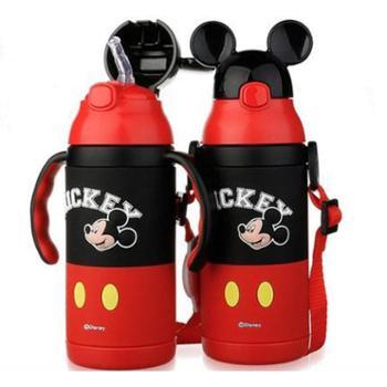 迪士尼儿童保温水杯家用幼儿园宝宝小孩喝水杯子吸管学饮杯壶单个