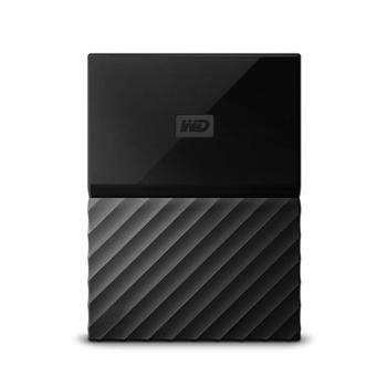 西部数据(WD)MyPassport1TB2.5英寸经典黑移动硬盘高速便携