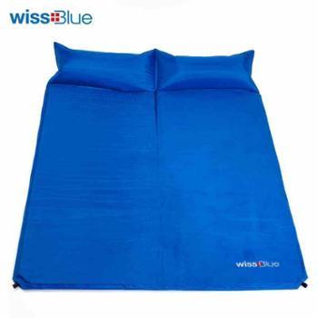 维仕蓝/Wissblue双人自动充气垫WA8040