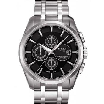天梭手表TISSOT-库图系列钢带机械男士腕表T035.627.11.051.00