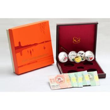 中国金币 杭州西湖金银纪念币