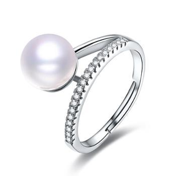 仙蒂瑞拉SANDYRILLA气质淑女8.5mm珍珠戒指XDRL2159
