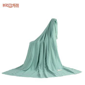 金丝莉/KINTHERI 金丝莉 竹棉家居毯针织毯180×200cm 竹纤维