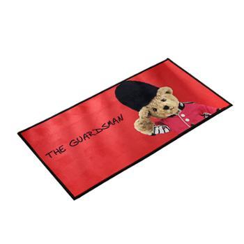 泰迪熊 皇家礼宾地垫 脚垫 GBTB-zxx010红色 40*80cm