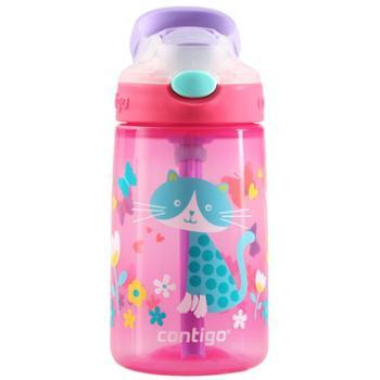 Contigo康迪克小发明家儿童防漏吸管杯单个送杯套
