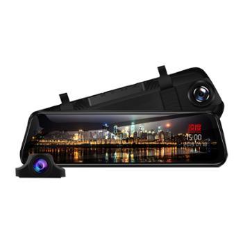 凌度HS880C行车记录仪高清夜视前后双录12寸流媒体倒车影像免安装单镜头