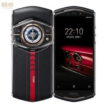 8848 M6超跑版 钛金手机 欧洲牛皮、红宝石按键、骁龙865