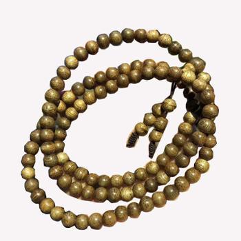 天然沉香手串0.6cm*108颗多层手链木质珠子男女款