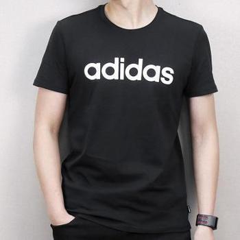 Adidas阿迪达斯男装透气纯棉短袖T恤CV9315CV6963