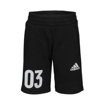 adidas阿迪达斯小童LBKNBMDA针织短裤DW4121