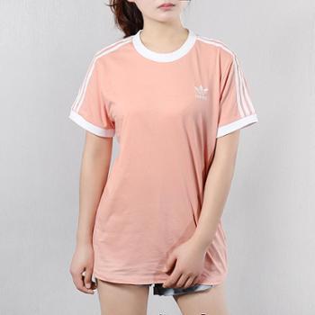 阿迪达斯三叶草女子运动休闲服透气半袖T恤衫DV2583