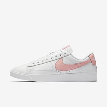 Nike耐克女鞋Blazer运动小白鞋裸粉休闲滑板鞋AV9370-114-T-h