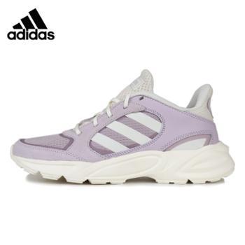 阿迪达斯女鞋跑步鞋90svalasion轻便运动鞋EE9912