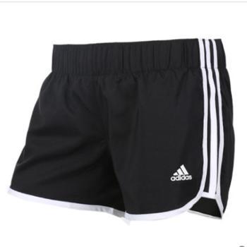 Adidas阿迪达斯女裤运动裤梭织透气速干短裤CE2014S