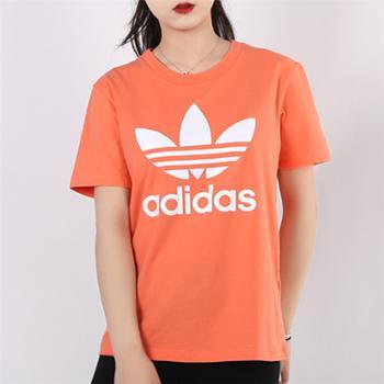 adidas阿迪达斯三叶草女子休闲短袖T恤FM3295