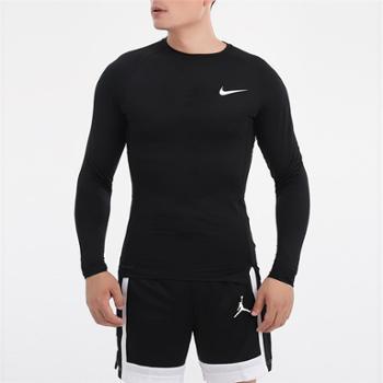 NIKE耐克男装健身训练运动休闲长袖T恤BV5589-010
