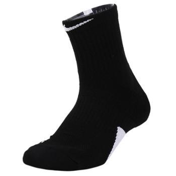 NIKE耐克男女毛巾底吸汗篮球运动袜子1双装SX7625-013-100
