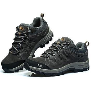 埃尔蒙特ALPINTMOUNTAIN男女款户外耐磨防滑登山徒步运动鞋