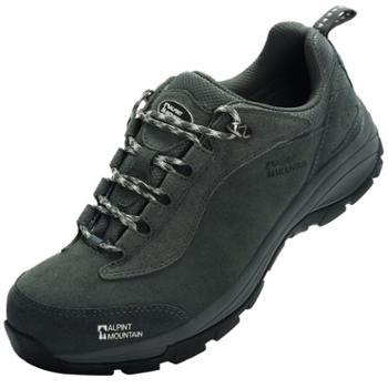 埃尔蒙特ALPINTMOUNTAIN男女户外耐磨防滑登山徒步运动鞋