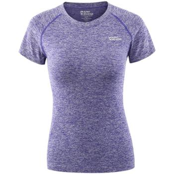 埃尔蒙特ALPINTMOUNTAIN女款瑜伽运动健身跑步弹力快干T恤650-909