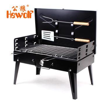 木炭烧烤炉/架户外便携折叠家用烧烤箱野外烤肉架子加厚