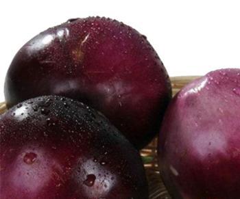 翠仙牌 惠民新鲜蔬菜 绿色食品 圆茄子 500克左右