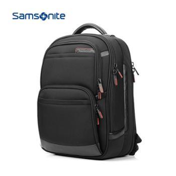 Samsonite/新秀丽时尚休闲双肩包大容量男女电脑包14寸背包商务电脑包笔记本包旅行包36B09