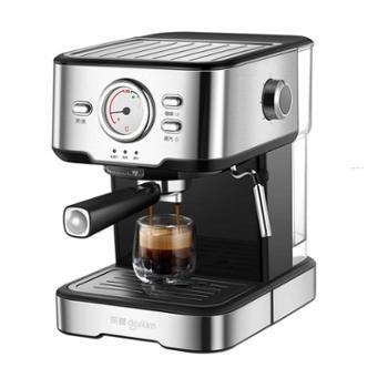 东菱意式咖啡机家用过滤式滤芯20bar高压萃取温度可视DL-KF5403