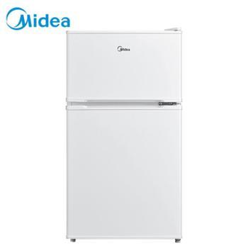 美的/Midea双门迷你小冰箱租房宿舍办公室家用节能环保BCD-88CM