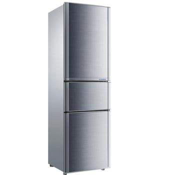 康佳/Konka三门家用小型冰箱节能保鲜静音省电BCD-192MT