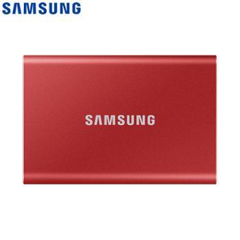 三星/SAMSUNG2TBType-c移动硬盘固态PSSDMU-PC2T0T