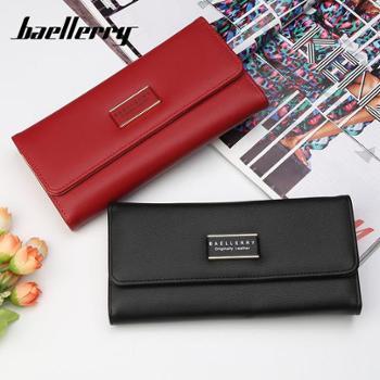 baellerry女士钱包韩版时尚多功能手拿包大容量多卡位长款钱夹