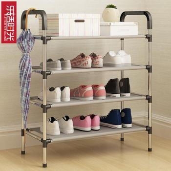 鞋架多层简易家用防尘组装布艺经济型寝室宿舍小鞋架子多功能鞋柜
