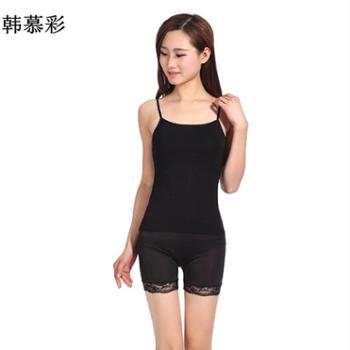 韩慕彩(2件装)薄款运动女式小吊带115款