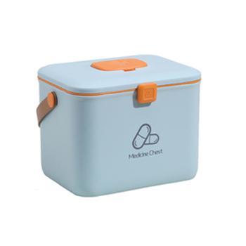 物鸣医药箱AA006家庭装大容量急救箱手提收纳盒