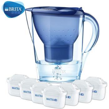 碧然德Brita金典Marella系列过滤净水壶3.5L(蓝色)1壶7芯装