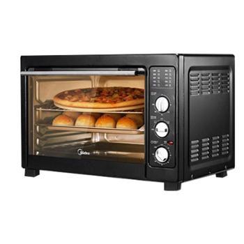 Midea/美的 电烤箱家用烘焙38升大容量多功能烤箱 MG38CB-AA