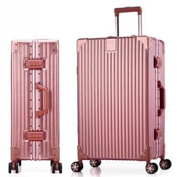 菲恩堡新款行李箱包品牌拉杆箱万向轮登机箱学生旅行箱