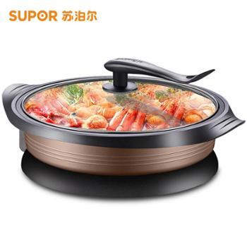 苏泊尔家用大电饼铛煎烤机烤饺煎饼锅34CMJJ34D801-180