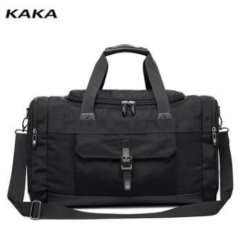卡卡单肩包男春运大容量出差行李包 商务单肩轻便大手提旅行包野
