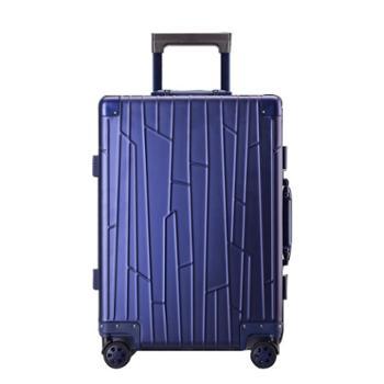 菲恩堡新款全铝镁合金拉杆箱登机箱全铝箱休闲行李箱20寸男女旅行箱金属