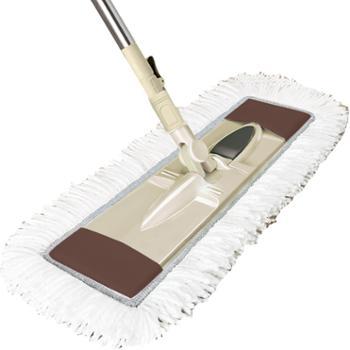 爱格日用品清洁工具大号懒人免手洗平板拖把尘推地拖可旋转
