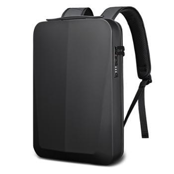 班歌新款背包男双肩包PC吸塑硬壳电脑包男士商务防水箱包