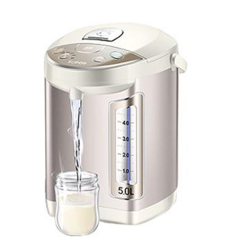 苏泊尔电动出水多段调温保温5L大容量电热水壶SW-50T53A