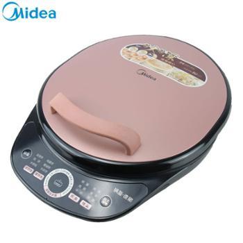 美的 家用双面加热加深智能煎烤机 JS3401